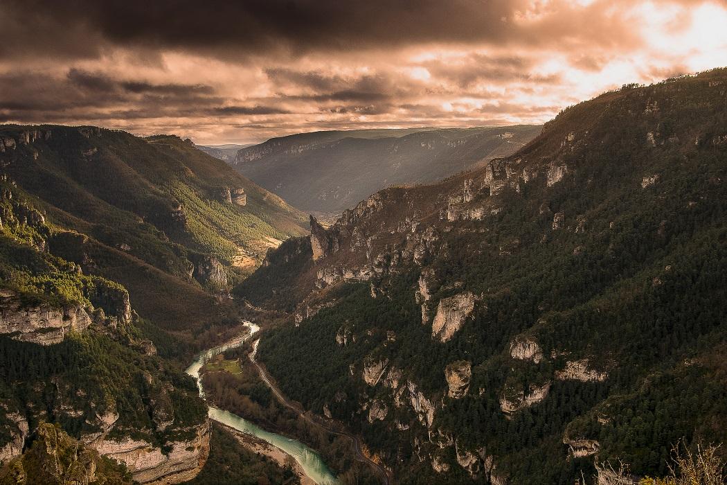 Panorama des Gorges du Tarn
